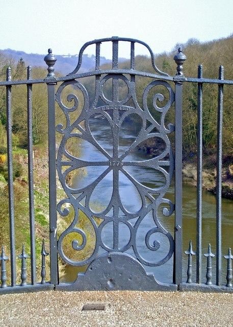 Ironwork detail, Ironbridge