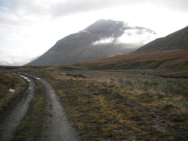 River Larig road