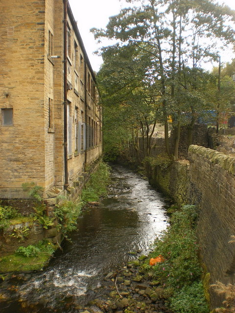 River Hebble at Phoebe Lane Mills