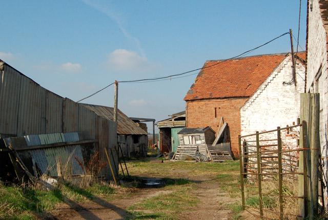 Farm buildings at Leam Lodge, Hunningham