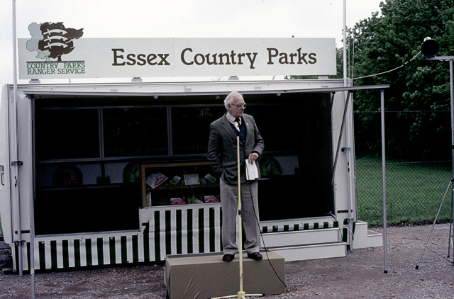 Opening of Hadleigh Castle Country Park in 1987