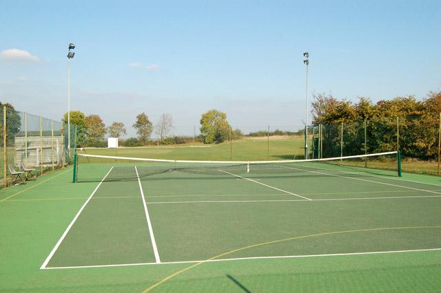 Offchurch Sports Club tennis court