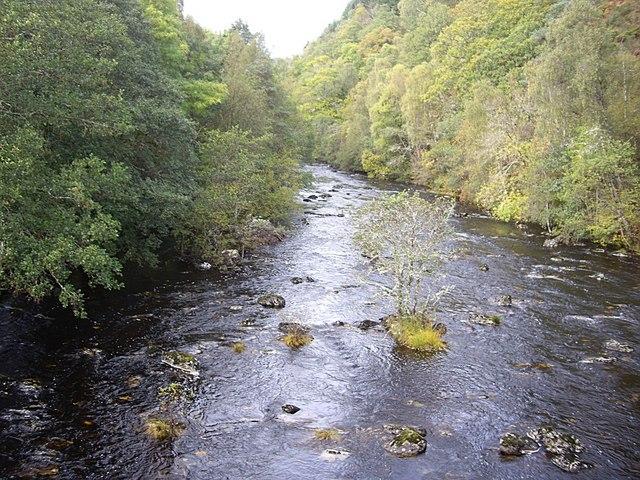 Upstream River Cannich