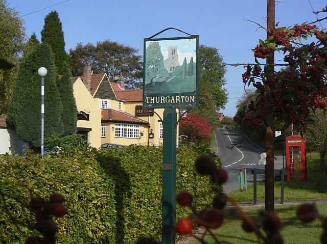 Thurgarton Village sign