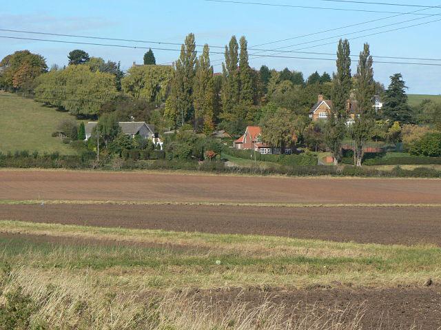 Houses on the hillside, Goverton