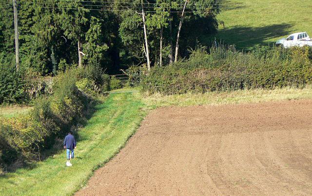 Footpath near Goverton