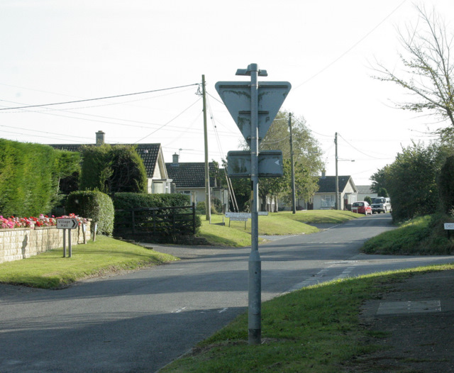 2009 : South on Sutton Lane, Sutton Benger