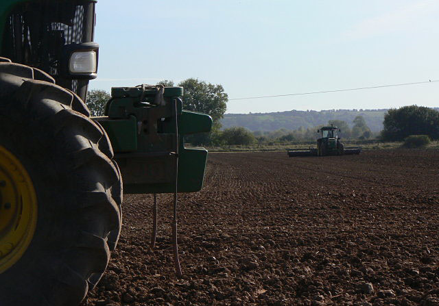 Rolling and sowing