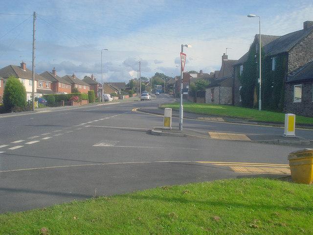 Junction of Talbot Lane with Talbot Street