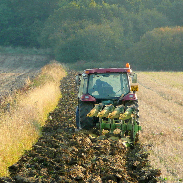 Autumn ploughing 1