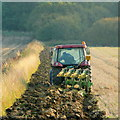 SP0232 : Autumn ploughing 1 by Jonathan Billinger