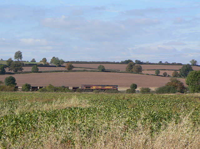 Freight across the countryside