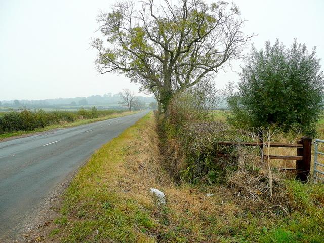 Edge of the B4213
