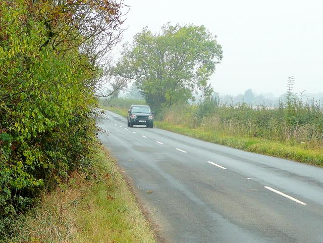 B4213 towards Staunton