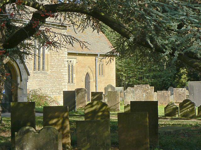 Bleasby churchyard