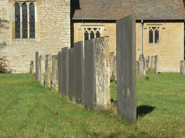 Gravestones at Bleasby