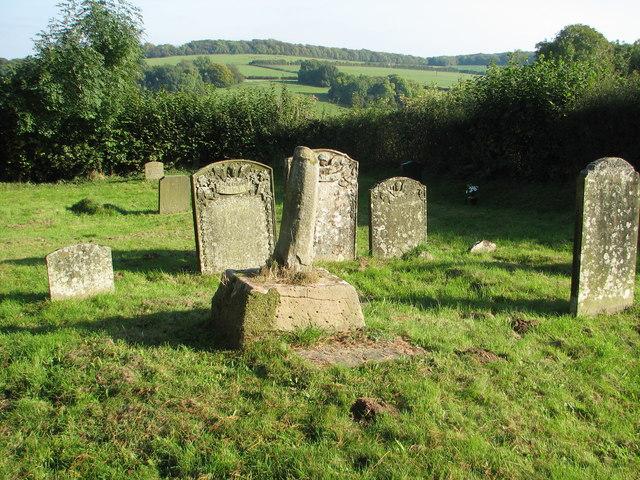 Penterry churchyard cross
