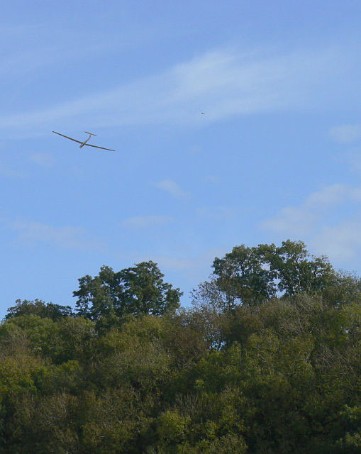 Gliding above the River Trent
