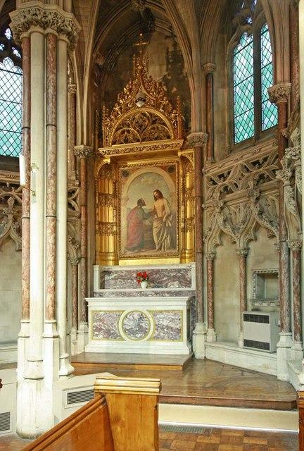 The Immaculate Conception, Farm Street, London W1 - Shrine