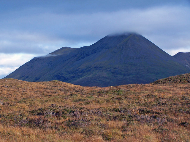 Moorland towards Glamaig