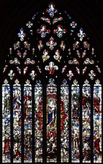 The Immaculate Conception, Farm Street, London W1 - Window