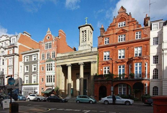St Mark's Church, North Audley Street, London W1