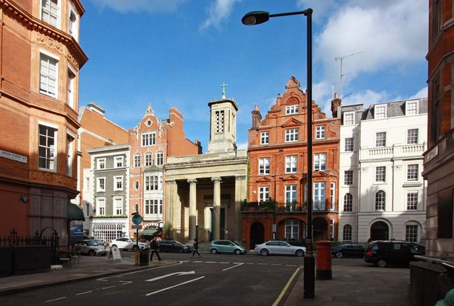 St Mark's Church, North Audley Street, London W1