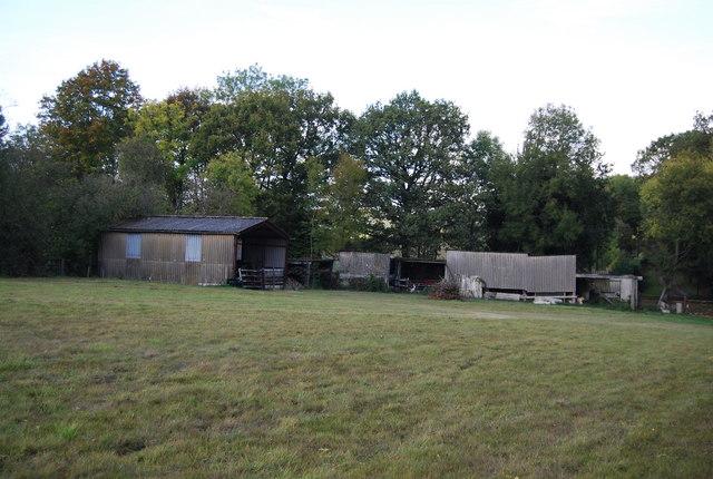 Farm buildings, The Shaws