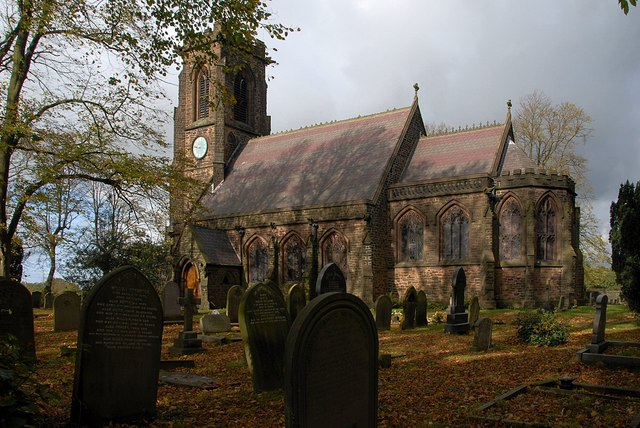 Christ Church. Charnock Richard