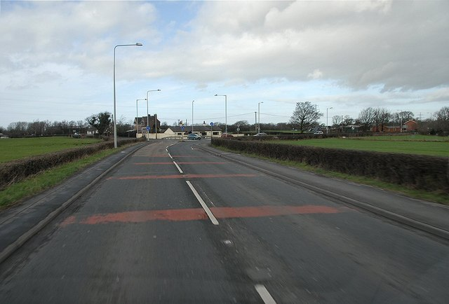 Preston Road, Mill Lane junction