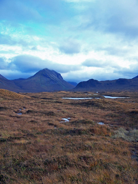 Moorland towards Loch Caol