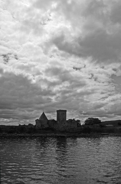 Inchcolm Abbey from the ferry