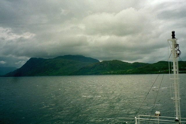 Sound of Sleat, View to North Morar