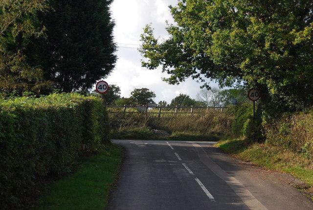Egg Pie Lane & Scabharbour Rd junction, Fletcher's Green