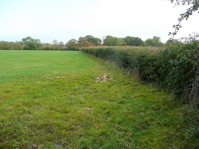 Farmland near Ryefield Farm