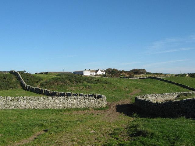 Field boundaries at Morrach