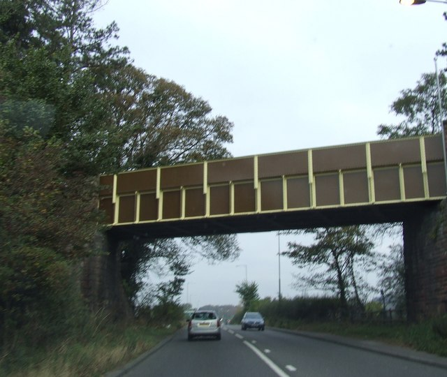 Disused Railway Bridge over A449