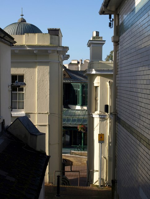 Steps to Fleet Street, Torquay