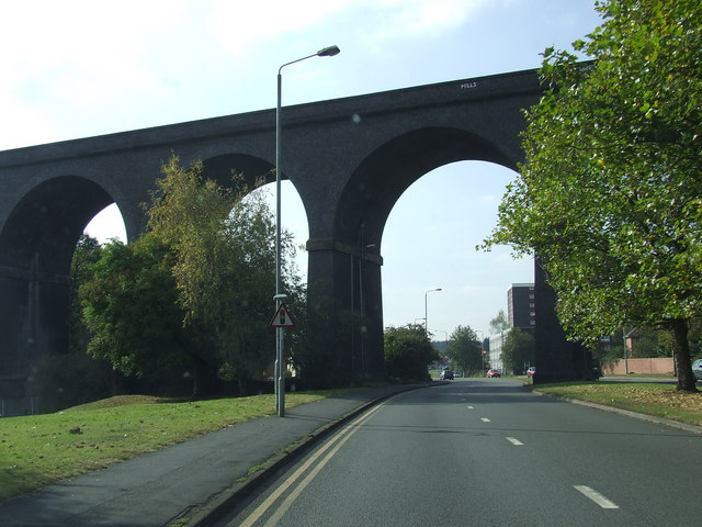 Railway Viaduct over A449
