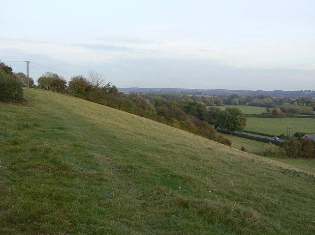 Hillside between Lowdham and Gonalston.