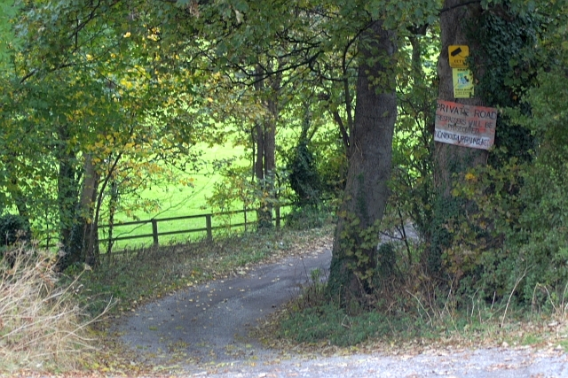 Access Road to West Newlands Farm