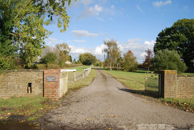 Driveway to Eastwood Farm, Scabharbour Rd