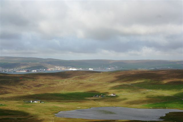 Loch of setter from Ander hill