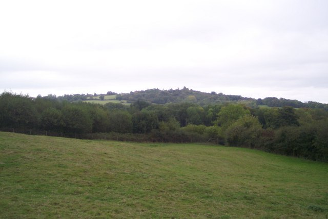 View of Ide Hill from Toy's Hill