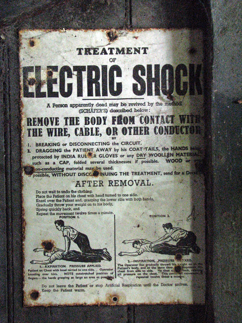 Health and Safety Notice, Eaton Loco