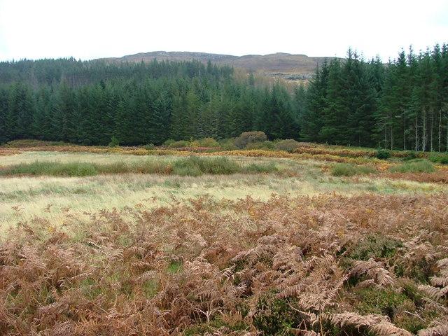 Rough ground in Glen Hinnisdal