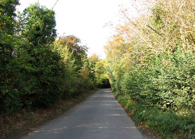 Approach to Bergh Aphton on Cooke's Road