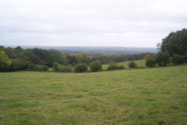 View from Toy's Hill footpath
