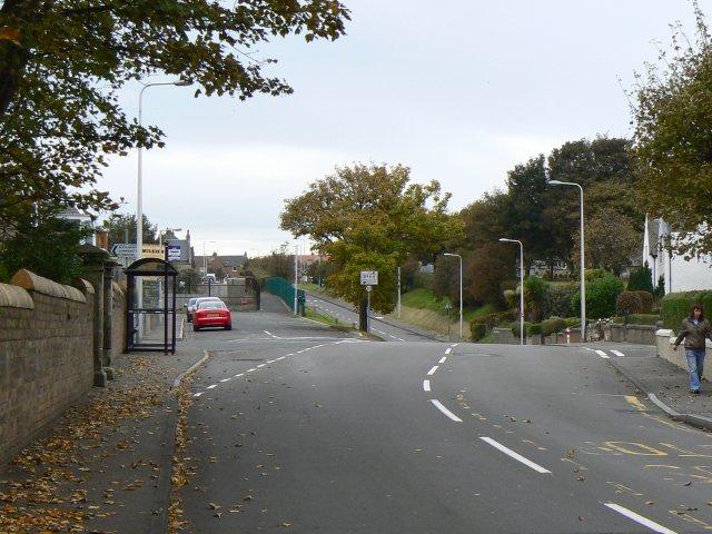 Main road through Buckhaven