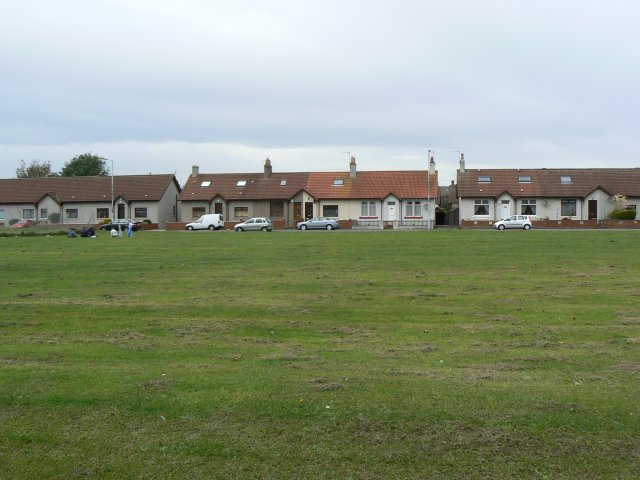 Houses across the green